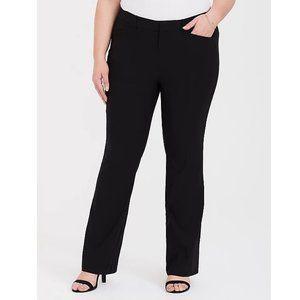Torrid Black Dress Pants Slacks Modern Stretch 26T